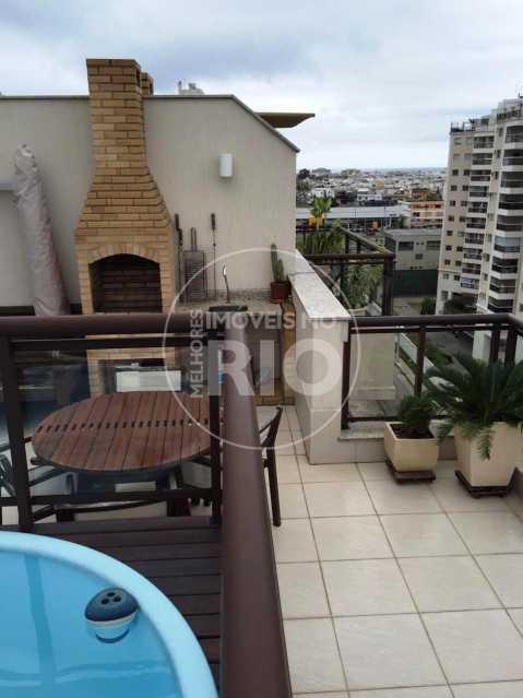 Melhores Imóveis no Rio - Cobertura 2 quartos no Recreio - MIR1800 - 4