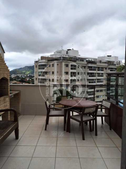 Melhores Imóveis no Rio - Cobertura 2 quartos no Recreio - MIR1800 - 5