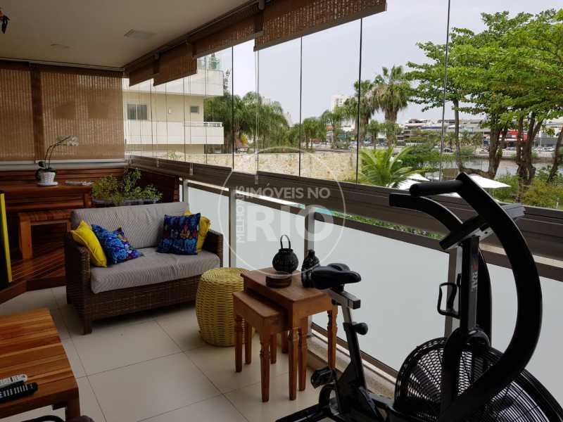 Melhores Imóveis no Rio - Apartamento 3 quartos à venda Barra da Tijuca, Rio de Janeiro - R$ 1.680.000 - MIR1826 - 4
