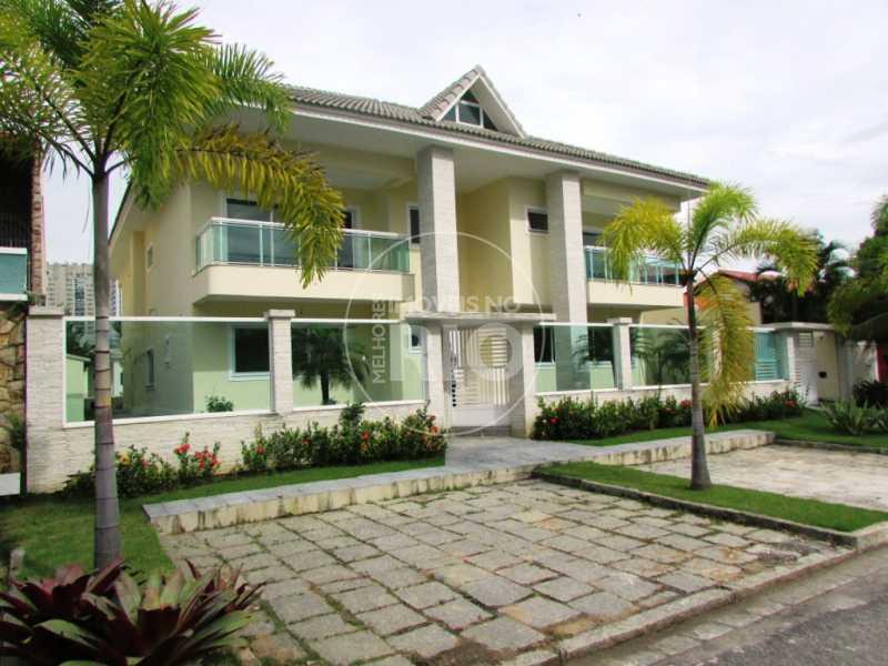 Melhores Imóveis no Rio - Casa 6 quartos no Condomínio Pedra de Itaúna - CB0312 - 1
