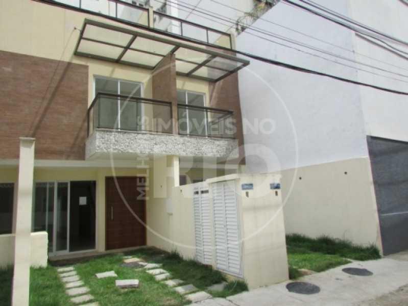 Melhores Imóveis no Rio - Casa de Vila 3 quartos na Tijuca - MIR0373 - 1