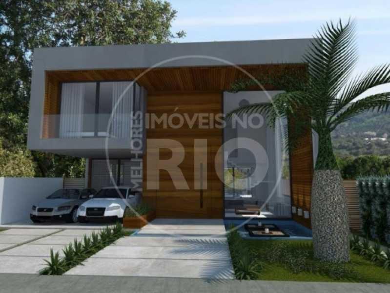 Melhores Imóveis no Rio - Casa 5 quartos no Condomínio Alphaville - CB0397 - 1