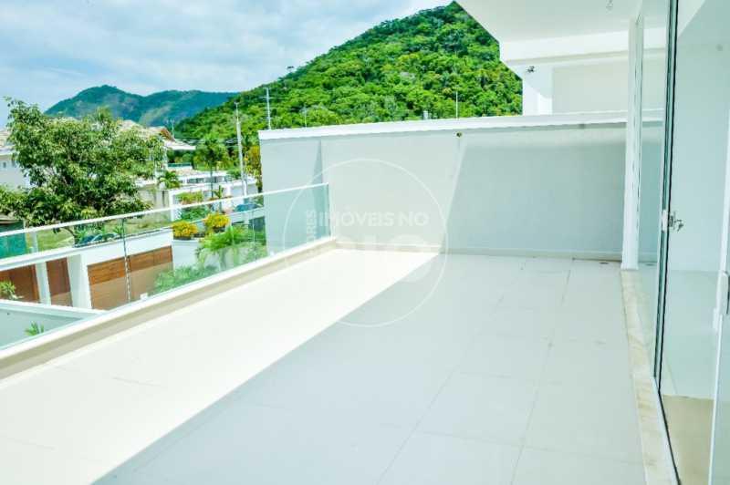 Melhores Imóveis no Rio - CASA NO CONDOMÍNIO BLUE HOUSES - CB0404 - 6