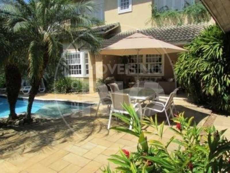 Melhores Imóveis no Rio - Casa 5 quartos no Condomínio Santa Marina - CB0464 - 5