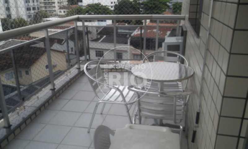 Melhores Imóveis no Rio - Cobertura 3 quartos na Tijuca. - MIR0575 - 4