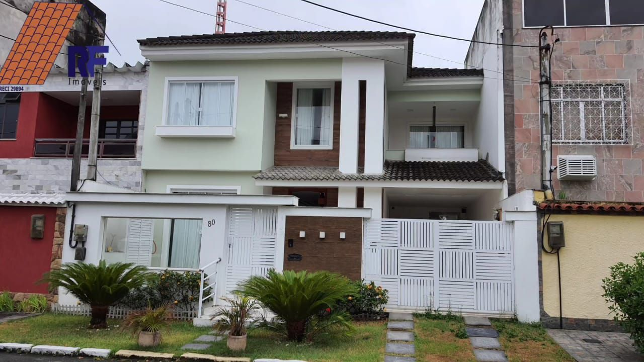 FOTO 1 - Casa em Condomínio à venda Rua Vitório Libonati,Vila Valqueire, Rio de Janeiro - R$ 1.590.000 - RF248 - 1
