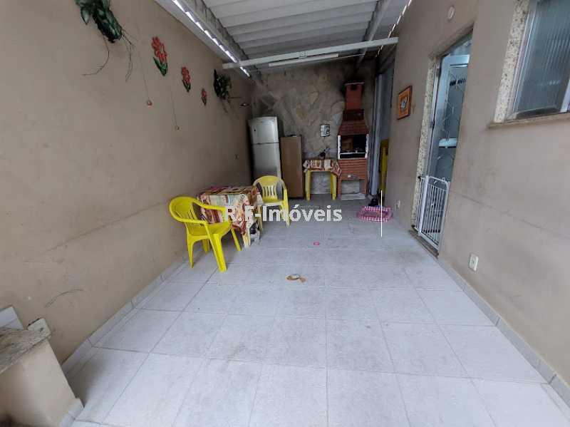 2 - Casa de Vila à venda Rua Barão,Praça Seca, Rio de Janeiro - R$ 525.000 - VECV30001 - 4
