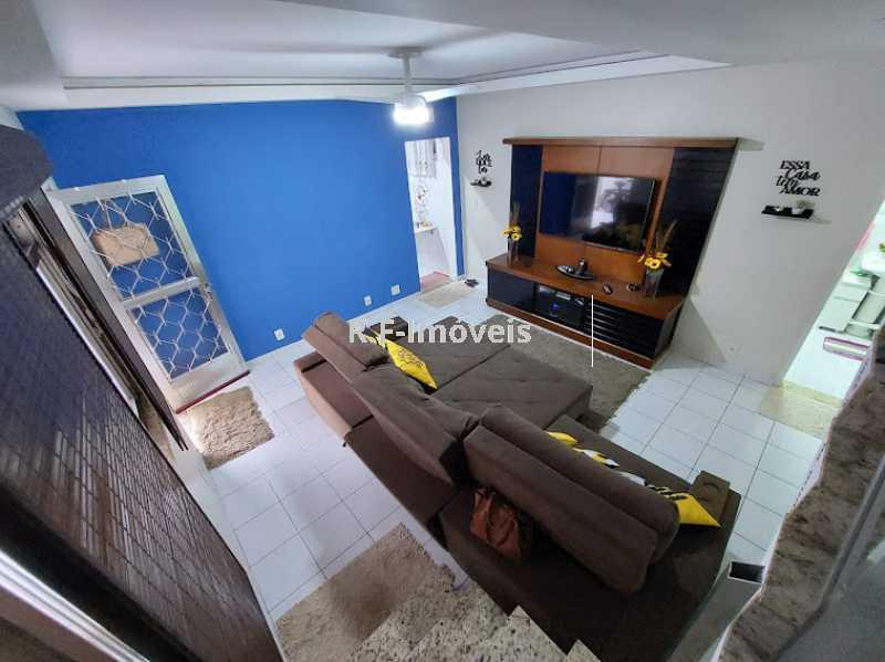 5 1 - Casa de Vila à venda Rua Barão,Praça Seca, Rio de Janeiro - R$ 525.000 - VECV30001 - 7