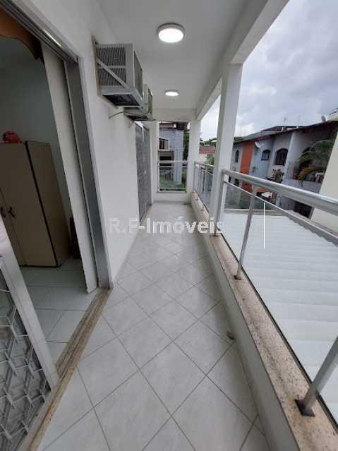 11 - Casa de Vila à venda Rua Barão,Praça Seca, Rio de Janeiro - R$ 525.000 - VECV30001 - 16