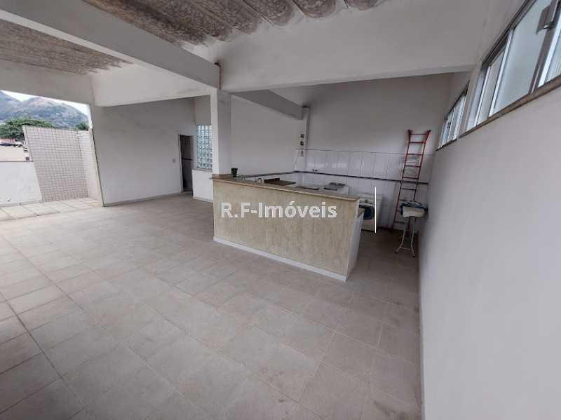 1234567890 5 - Casa de Vila à venda Rua Barão,Praça Seca, Rio de Janeiro - R$ 525.000 - VECV30001 - 28
