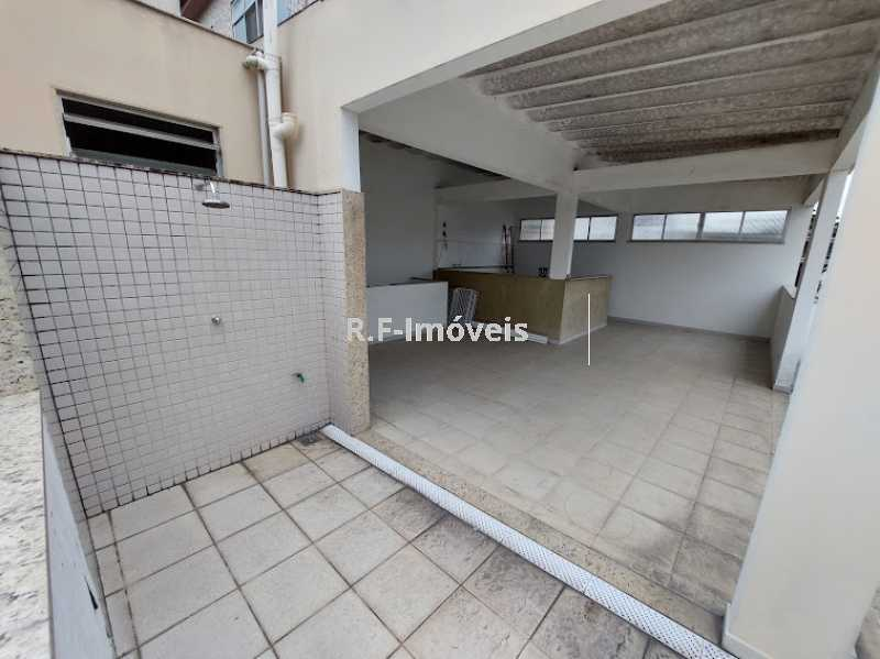 1234567890 7 - Casa de Vila à venda Rua Barão,Praça Seca, Rio de Janeiro - R$ 525.000 - VECV30001 - 30