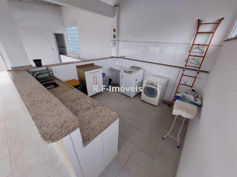 1234567890 8 - Casa de Vila à venda Rua Barão,Praça Seca, Rio de Janeiro - R$ 525.000 - VECV30001 - 31