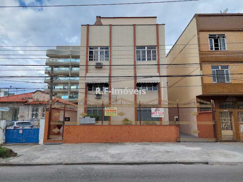 Apartamento à venda Rua Luís Beltrão,Vila Valqueire, Rio de Janeiro - R$ 265.000 - RF123 - 1
