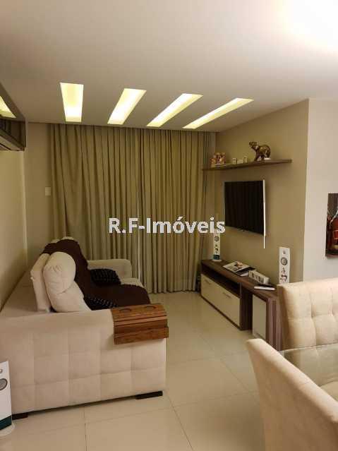 A. - Apartamento à venda Estrada Japore,Vila Valqueire, Rio de Janeiro - R$ 390.000 - RF141 - 1