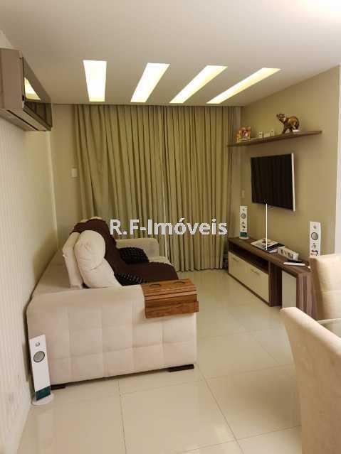B. - Apartamento à venda Estrada Japore,Vila Valqueire, Rio de Janeiro - R$ 390.000 - RF141 - 3
