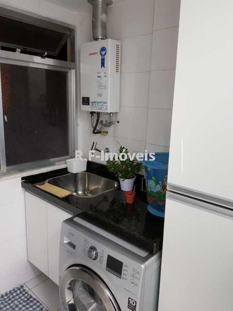 G 1. - Apartamento à venda Estrada Japore,Vila Valqueire, Rio de Janeiro - R$ 390.000 - RF141 - 8