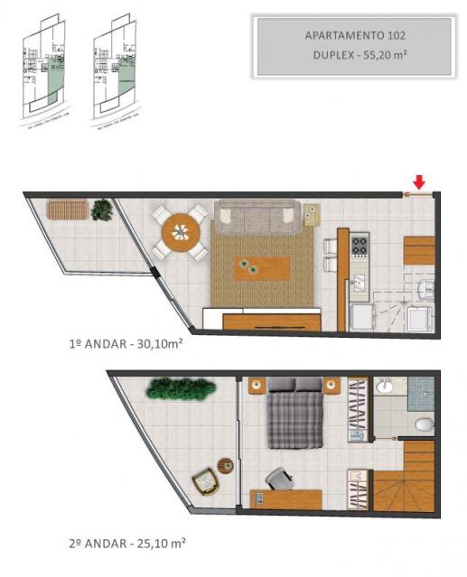 Apartamento 102 - Fachada - Solar - 130 - 3