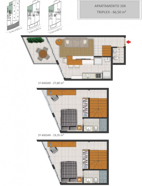 Apartamento 104 - Fachada - Solar - 130 - 5