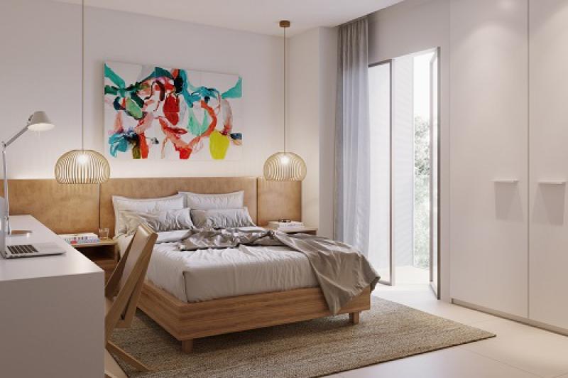 Apartamento Tipo - Col. 01 - S - Fachada - Venâncio Flores - 27 - 9