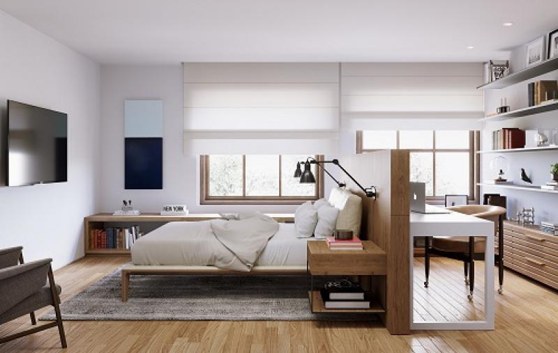 Apartamento Tipo - Coluna 01 - - Fachada - Venâncio Flores - 27 - 11