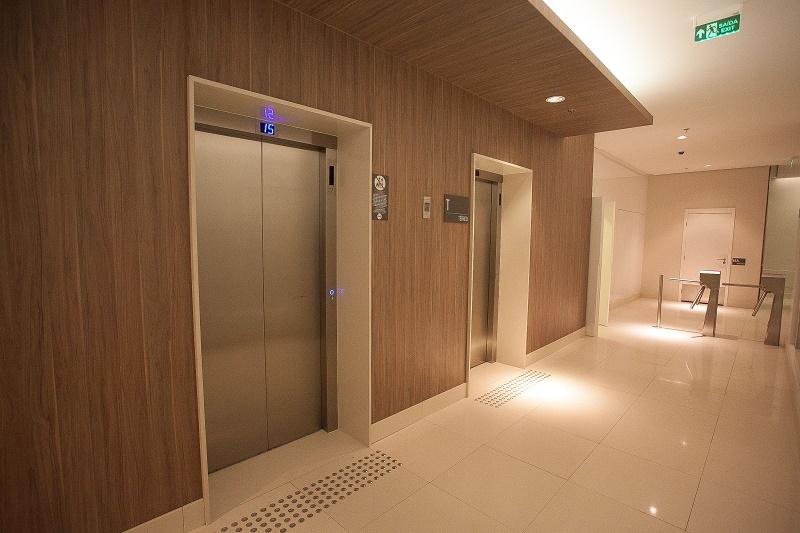 Hall elevadores - Fachada - Assembleia One - 4 - 6