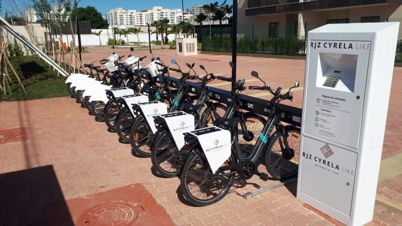 Bicicletário - Fachada - RJZ Cyrela Like - 69 - 10