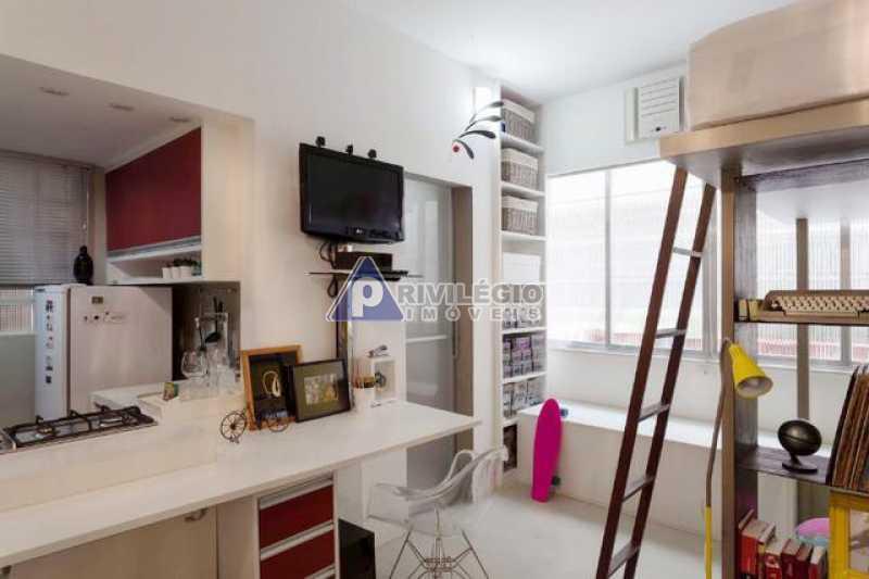 sala quarto cozinha kitnet glo - Gloria, Loft planejado arquiteto - BTKI10093 - 3