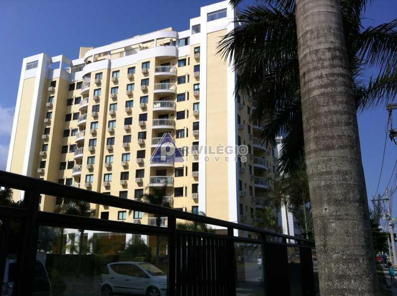 fachada - Apartamento À VENDA, Recreio dos Bandeirantes, Rio de Janeiro, RJ - LAAP20182 - 1