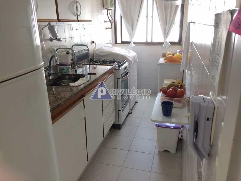 cozinha - Apartamento À VENDA, Recreio dos Bandeirantes, Rio de Janeiro, RJ - LAAP20182 - 11