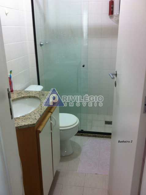 Banheiro - Apartamento À VENDA, Recreio dos Bandeirantes, Rio de Janeiro, RJ - LAAP20182 - 14