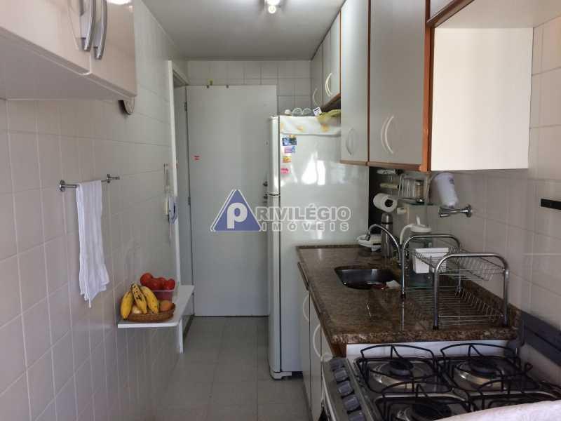 cozinha - Apartamento À VENDA, Recreio dos Bandeirantes, Rio de Janeiro, RJ - LAAP20182 - 12