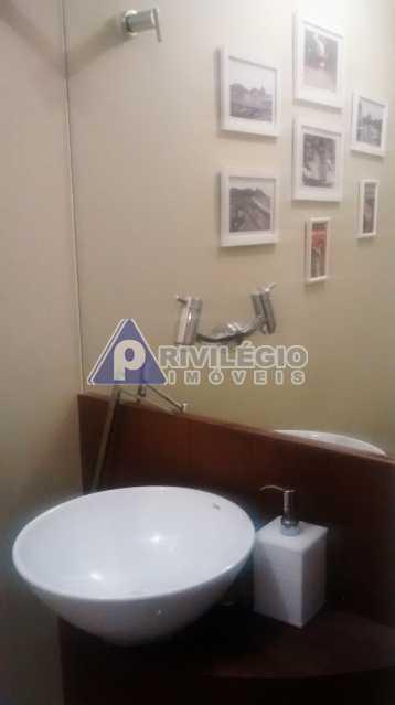 Sala 1 quarto-Porteira Fechada - Apartamento À Venda - Lagoa - Rio de Janeiro - RJ - BTAP10538 - 15