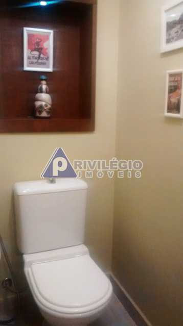 Sala 1 quarto-Porteira Fechada - Apartamento À Venda - Lagoa - Rio de Janeiro - RJ - BTAP10538 - 14
