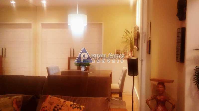 Sala 1 quarto-Porteira Fechada - Apartamento À Venda - Lagoa - Rio de Janeiro - RJ - BTAP10538 - 7