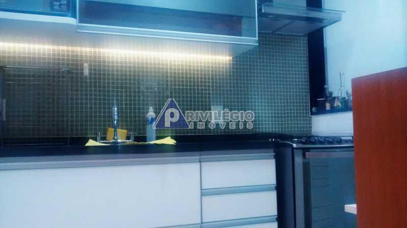 Sala 1 quarto-Porteira Fechada - Apartamento À Venda - Lagoa - Rio de Janeiro - RJ - BTAP10538 - 11