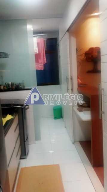 Sala 1 quarto-Porteira Fechada - Apartamento À Venda - Lagoa - Rio de Janeiro - RJ - BTAP10538 - 12