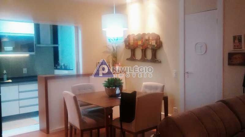 Sala 1 quarto-Porteira Fechada - Apartamento À Venda - Lagoa - Rio de Janeiro - RJ - BTAP10538 - 5