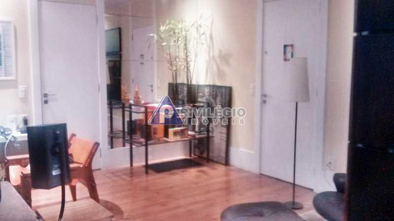 Sala 1 quarto-Porteira Fechada - Apartamento À Venda - Lagoa - Rio de Janeiro - RJ - BTAP10538 - 3