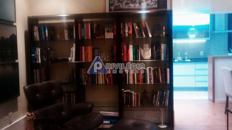 Sala 1 quarto-Porteira Fechada - Apartamento À Venda - Lagoa - Rio de Janeiro - RJ - BTAP10538 - 4
