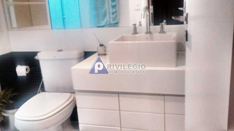 Sala 1 quarto-Porteira Fechada - Apartamento À Venda - Lagoa - Rio de Janeiro - RJ - BTAP10538 - 16