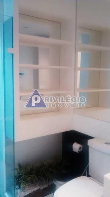 Sala 1 quarto-Porteira Fechada - Apartamento À Venda - Lagoa - Rio de Janeiro - RJ - BTAP10538 - 17