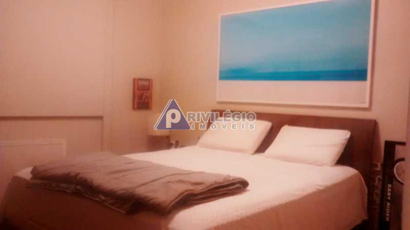 Sala 1 quarto-Porteira Fechada - Apartamento À Venda - Lagoa - Rio de Janeiro - RJ - BTAP10538 - 8