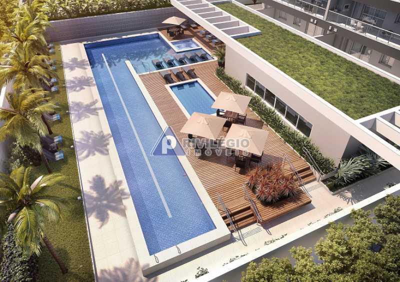 2 Quartos - Botafogo - Apartamento À Venda - Botafogo - Rio de Janeiro - RJ - LAAP20257 - 4