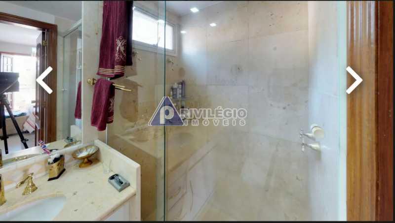 banheiro social - Humaitá! Luxuosa cobertura Duplex, vaga escritura. - BTCO30113 - 20