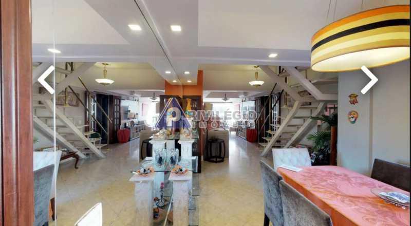 sala 3 - Humaitá! Luxuosa cobertura Duplex, vaga escritura. - BTCO30113 - 6