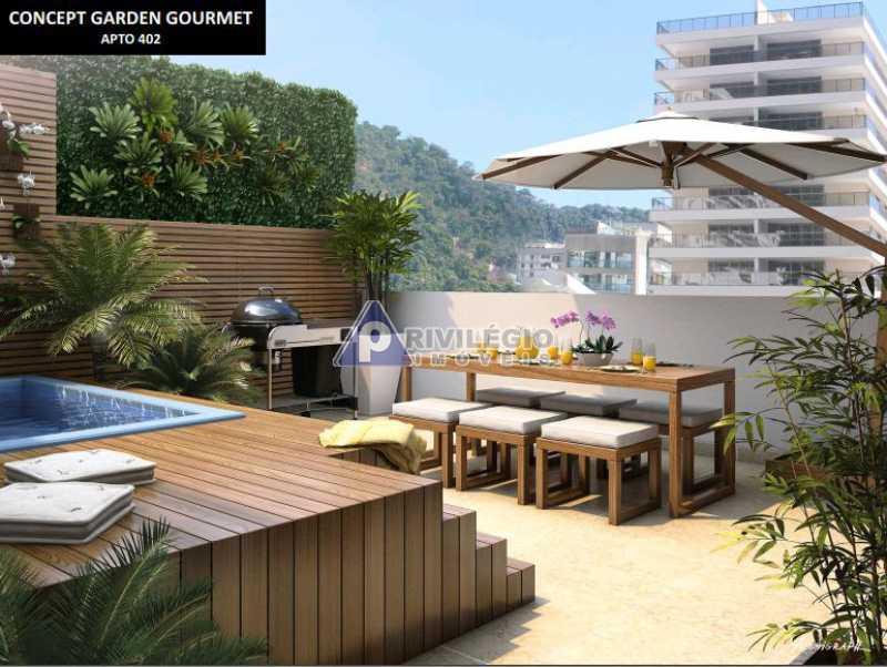 2 quartos botafogo - Apartamento À Venda - Botafogo - Rio de Janeiro - RJ - LAAP20328 - 5
