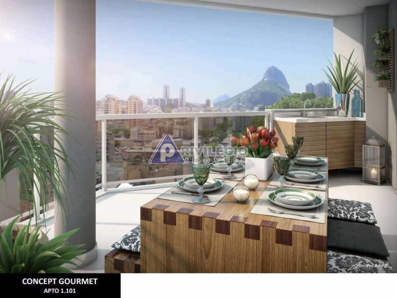 2 quartos botafogo - Apartamento À Venda - Botafogo - Rio de Janeiro - RJ - LAAP20328 - 1