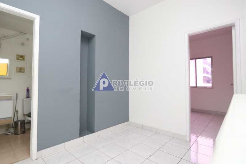 Cobertura - Botafogo - Botafogo! Sala quarto, cozinha americana, vista livre, sol matinal, condomínio barato. - HMAP10029 - 4
