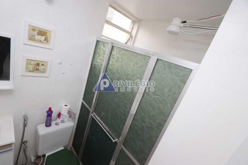 Cobertura - Botafogo - Botafogo! Sala quarto, cozinha americana, vista livre, sol matinal, condomínio barato. - HMAP10029 - 27