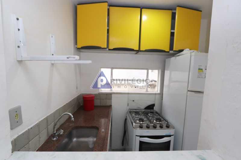 Cobertura - Botafogo - Botafogo! Sala quarto, cozinha americana, vista livre, sol matinal, condomínio barato. - HMAP10029 - 19